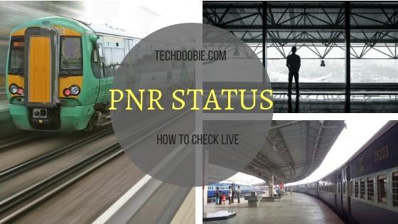 PNR Status Live check